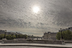 View of the Seine river Stock Photography