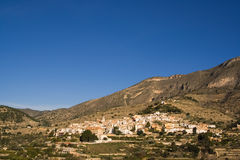 View of Sella,Spain. View of Sella village in Spain,Europe Stock Images
