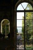 View semicircular windows Palace Stock Images