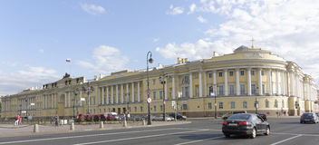 View of the Senate Square in St. Petersburg Stock Photo