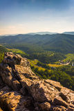 View from Seneca Rocks, Monongahela National Forest, West Virgin Stock Image