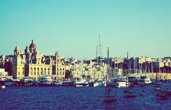 View of Senglea. Malta Royalty Free Stock Images