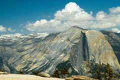 View from Sentinel Dome Stock Photography