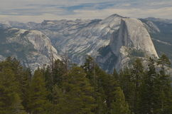 View from Sentinel Dome royalty free stock image