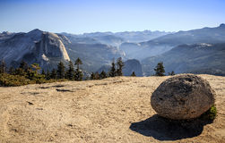 View from Sentinel Dome Royalty Free Stock Photos