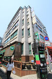 View of Seoul stree Myeongdong in South Korea Royalty Free Stock Photography