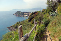 View of Sestri Levante Royalty Free Stock Photos