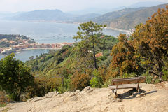 View of Sestri Levante Stock Photo
