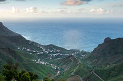 View at settlement at Tenerife Royalty Free Stock Photography