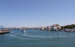View on Sevastopol. From bay Royalty Free Stock Photography