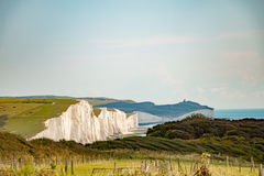 View of Seven Sisters Stock Photos