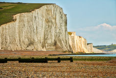 View of Seven Sisters Stock Photography
