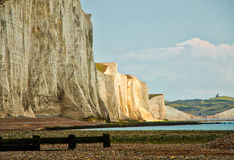 View of Seven Sisters Stock Image