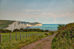 View of Seven Sisters royalty free stock photography