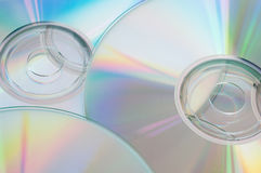 View of several dvd Stock Photos