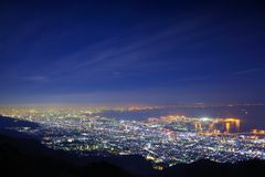 Kansai Skyline Royalty Free Stock Images