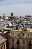 View of Sevilla from Cathedral from Sevilla Stock Photos