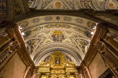 La Macarena church, Seville, andalusia, spain. A view in SEVILLE, ANDALUSIA, SPAIN, MAY, 22, 2017 : interiors  details of  La Macarena church may 22, 2017 in Royalty Free Stock Image