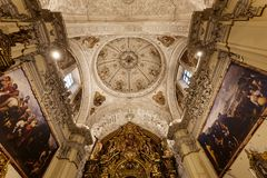Hospital de la caridad church, Seville, spain Stock Images