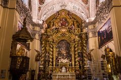 Hospital de la caridad church, Seville, spain Stock Photos