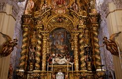 Hospital de la caridad church, Seville, spain Stock Photography