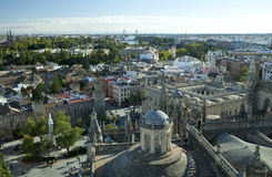 View on Seville in Spain Royalty Free Stock Photography