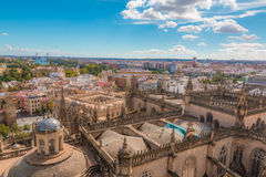 View of Seville Royalty Free Stock Images