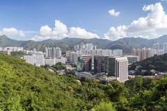 View of Sha Tin in Hong Kong Stock Images