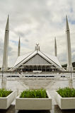 Shah Faisal Mosque Islamabad Stock Photo