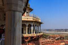 View at Shah Jahan imprisonment Royalty Free Stock Photos