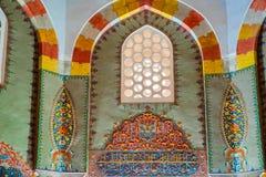 View of shahzada(prince) Ahmed tomb, mausoleum in Bursa, Turkey royalty free stock photography