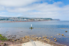 View from Shaldon to Teignmouth Devon England UK Stock Images