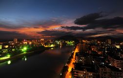 View of shaoguan 1 Royalty Free Stock Images