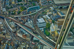 View from shard london Royalty Free Stock Photography