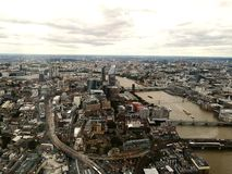 View from The Shard.London. royalty free stock photos