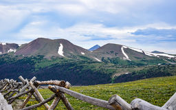 View of Sheep Mountain From the Alpine Visitor Center in Rocky Mountain National Park Stock Photos