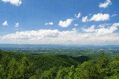 View of the Shenandoah Valley Stock Image