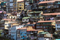 View of Shimla town in northern India. Royalty Free Stock Image