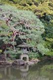 View at Shinjuku Gyoen National Garden Tokyo Japan Stock Photo
