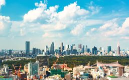 View of the Shinjuku skyline in Tokyo, Japan Stock Image