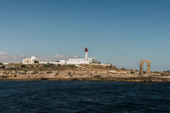 The view from the ship on the coast of Mahdia. Tunisia Stock Images