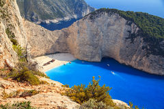 View on Shipwreck beach Stock Photography