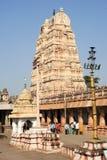 View of Shiva-Virupaksha Temple at Hampi, India Stock Photos