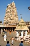 View of Shiva-Virupaksha Temple at Hampi, India Stock Photography