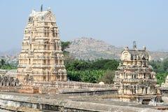 View of Shiva-Virupaksha Temple at Hampi, India Royalty Free Stock Photo