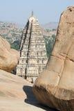 View of Shiva-Virupaksha Temple at Hampi, India Royalty Free Stock Photos