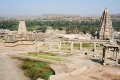 View of Shiva-Virupaksha Temple at Hampi, India Stock Photo