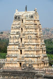 View of Shiva-Virupaksha Temple at Hampi, India Royalty Free Stock Images