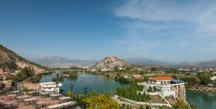 View at Shkodra city