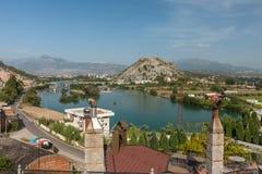 View at Shkodra city Stock Image